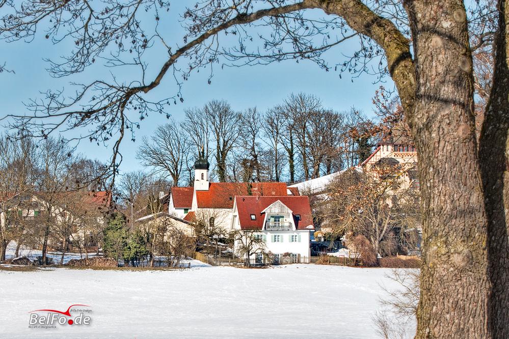 Winterimpression bei Walchstadt