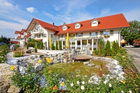 Blick auf das Hotel Jakl-Hof