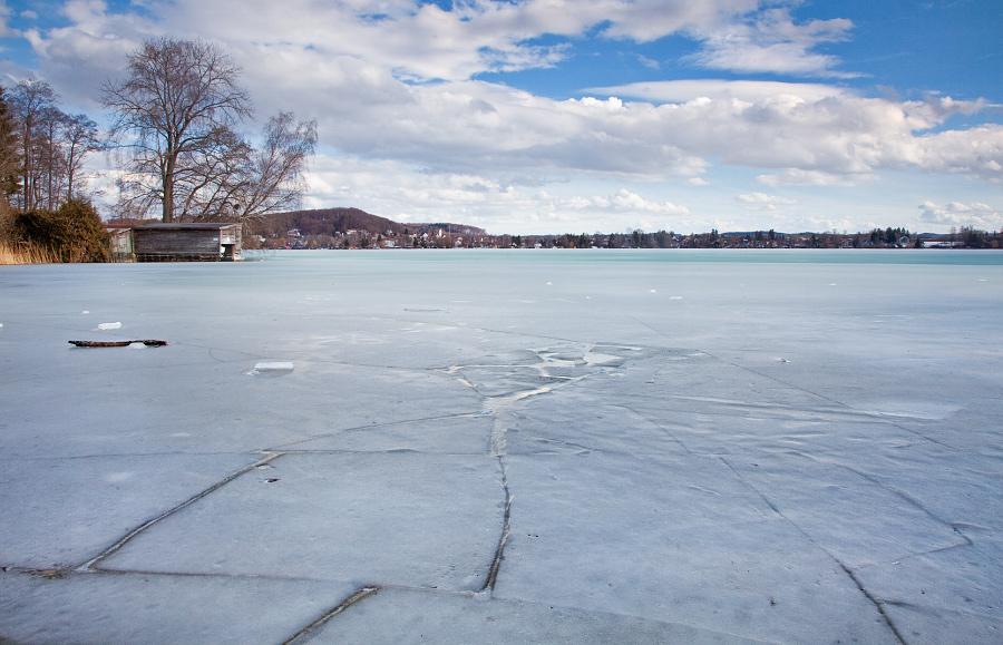 Eis am Badeplatz Roßschwemme