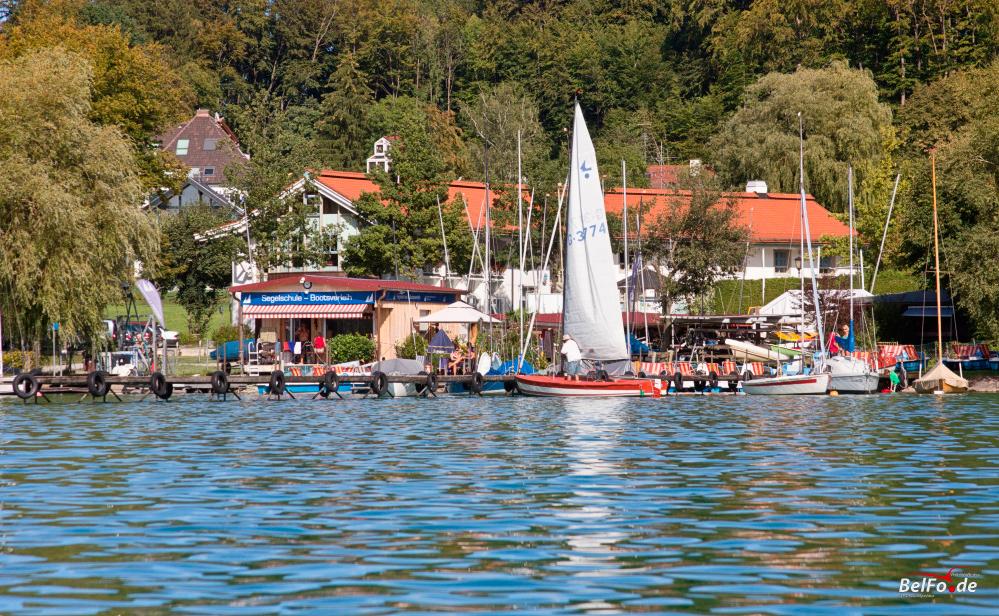 Bootsfahrt auf dem Wörthsee