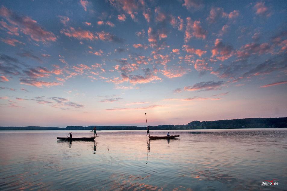 Seefest mit Fischerstechen am Wörthsee